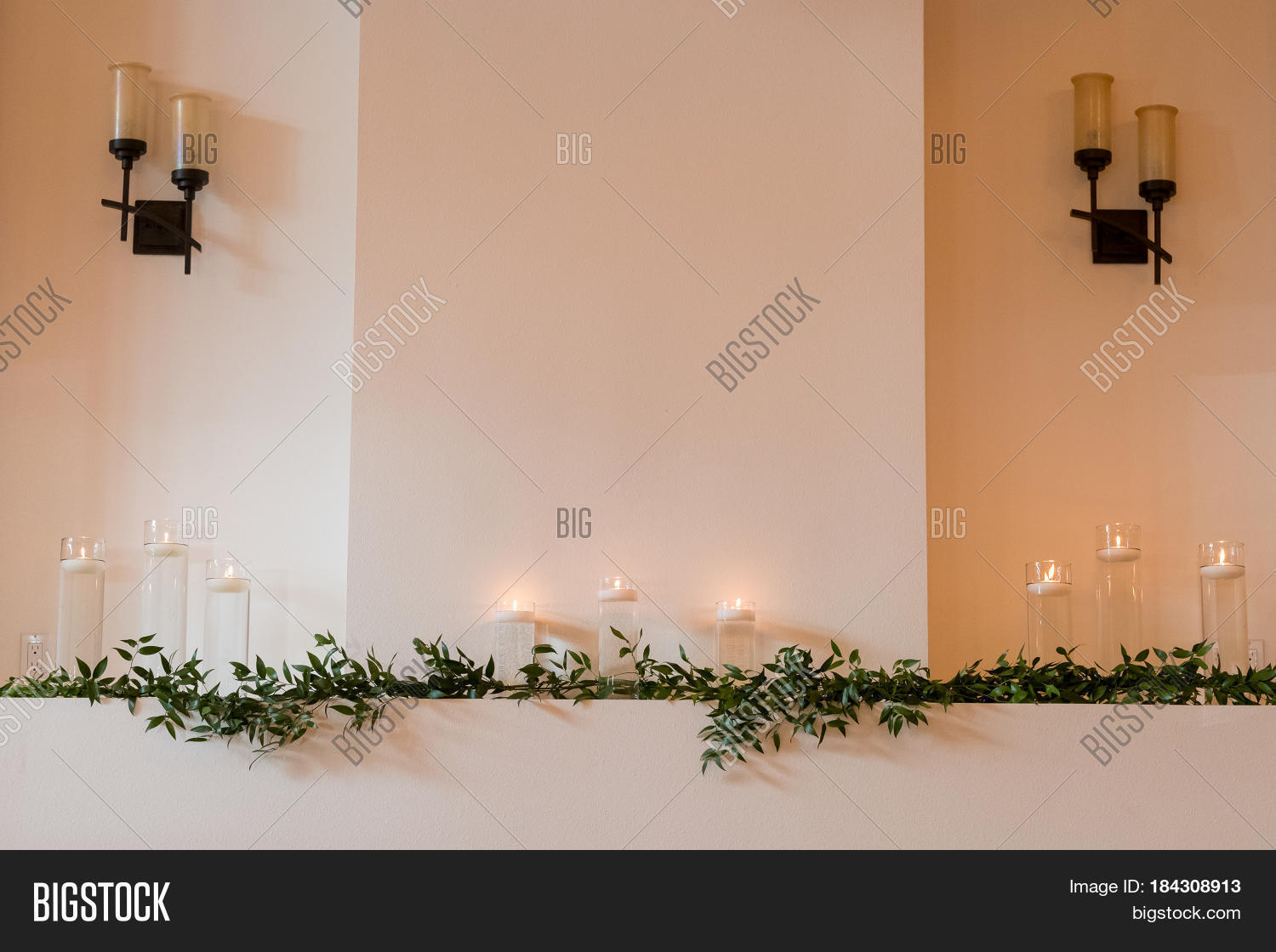 Candles Used Decor Image Photo Free Trial Bigstock