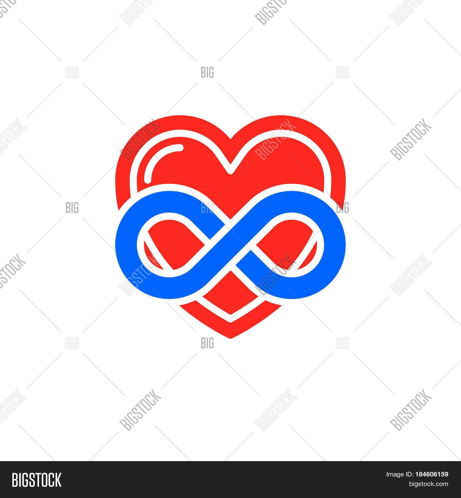 Eternal love icon vector filled vector photo bigstock eternal love icon vector filled flat sign solid colorful pictogram isolated on white heart with buycottarizona Gallery