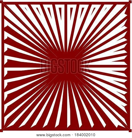 Ruby Red Striped Background V...
