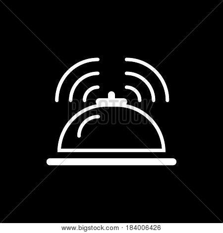 hotel service bell vector illustration. eps 10