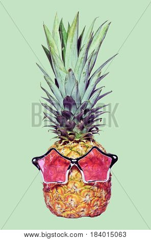 trendy funny pineapple