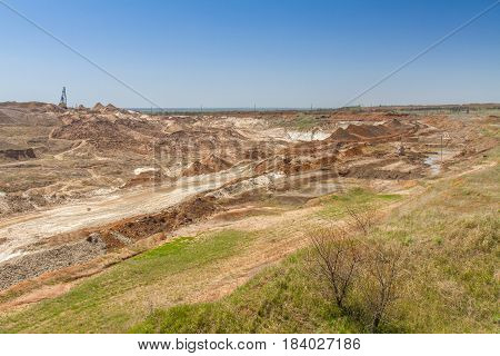 Lay Quarry Near The Town Of Pology