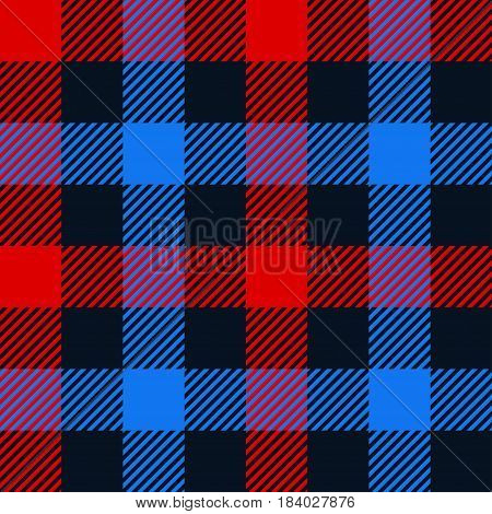 illustration of colorful squares textile seamless background