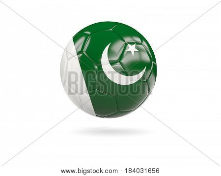 Football With Flag Of Pakistan