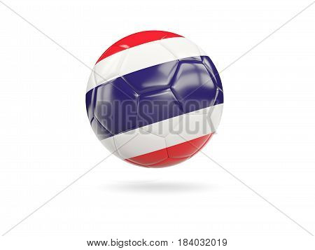 Football With Flag Of Thailand