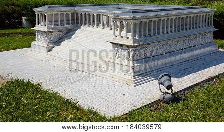 Miniaturk,  Istanbul.  Reduced Copy Of  Pergamon Altar In The Ancient City Of Pergamon In Asia Minor