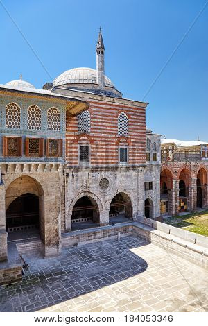 The Courtyard Of The Favorites In The Harem, Topkapi Palace, Istanbul