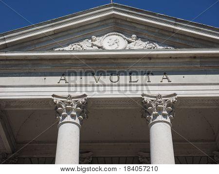 Tempio Voltiano (volta Temple) In Como