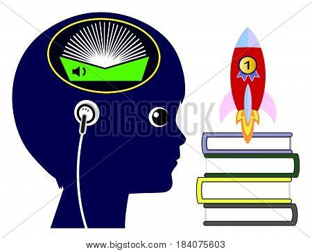 Audiobooks for Kids. Listening to audio books to boost academic performance