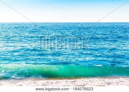 Ocean Surface With Waves