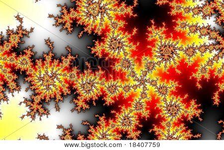 abstract mathematical fractal