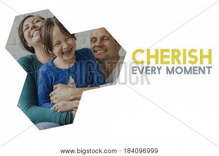 Family love happiness quality time together