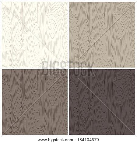 Wood texture. Vector background in four colors for design and decoration of surfaces banners creative design projects