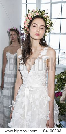 Marchesa And Notte Bridal Presentation Ss18