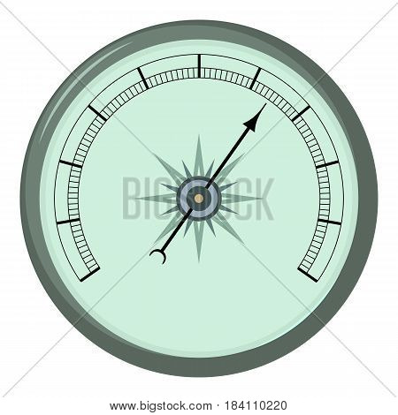 Atmosphere barometer icon. Cartoon illustration of atmosphere barometer vector icon for web