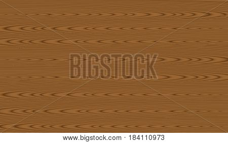 Brown old wood texture with knot. Wooden background. Vector illustration eps 10.