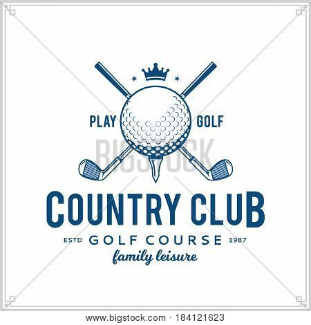 Golf Country Club Logo