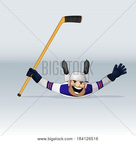 Usa Team Ice Hockey Player