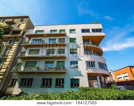 Novocomum House In Como (hdr)