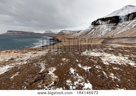 Snaefellsjokull National Park In Iceland