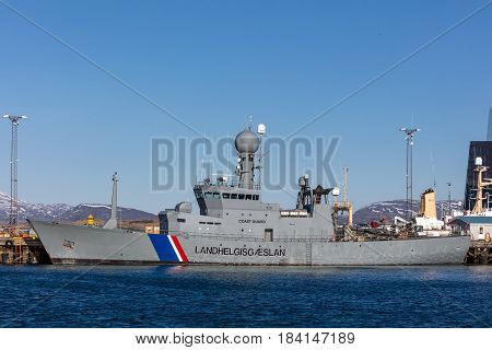 Icgv Thor - Flagship Of Icelandic Coast Guard