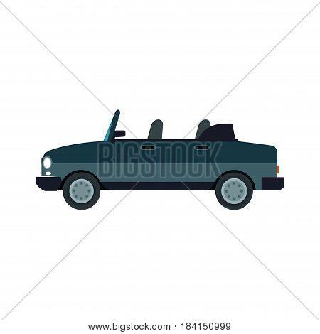 car coupe sport trasnport vehicle image vector illustration