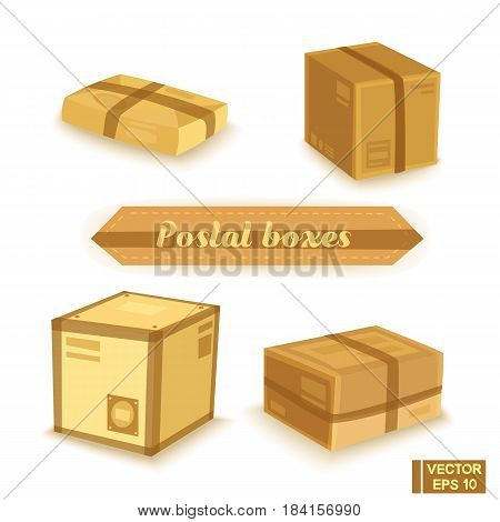 Set Mailboxes And Parcels