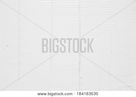 White Plaster Stucco Background Rough Texture Repair Construction Putty Rude Gyps Concept