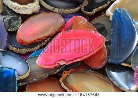 Color Agate Collection