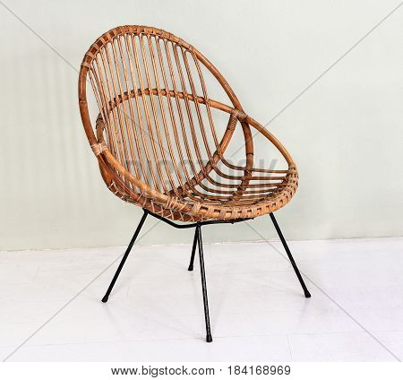 Comfortable Round Wicker Chair
