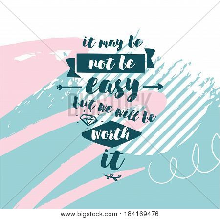 May Be Not Be Easy Vector Photo Free Trial Bigstock