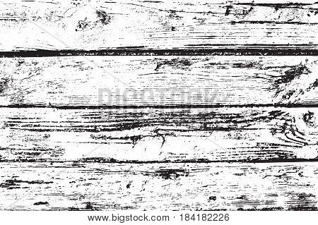 Vector wood texture. Abstract background, old wooden wall. Overlay illustration over any design to create grungy vintage rustic effect and depth. For posters, banners, retro and urban designs.