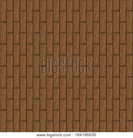 Wooden parquet floor texture background seamless pattern