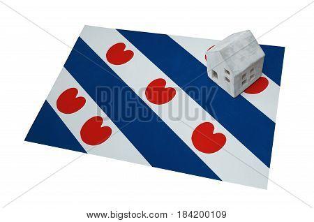 Small House On A Flag - Friesland
