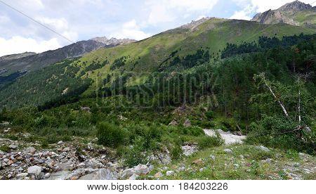 In The Foothills Of Mount Elbrus