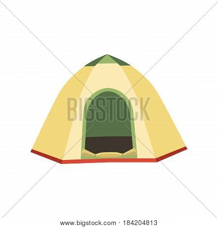 Tourist tent icon. Camping tent house. Web design element for UI app. Vector illustration eps10