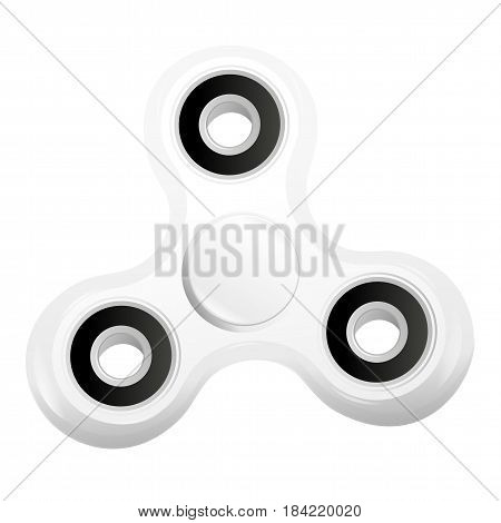 Hand Spinner Flat Vector Illustration