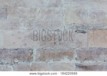 whitewash brick wall horizontal flat texture background