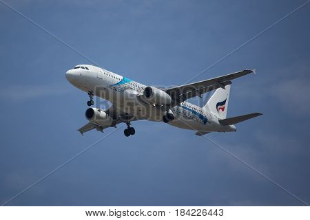 Hs-ppd Airbus A320-200 Of Bangkok Airway.