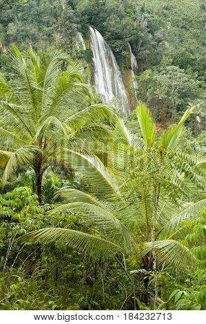 El Limon Waterfall, Samana Peninsula