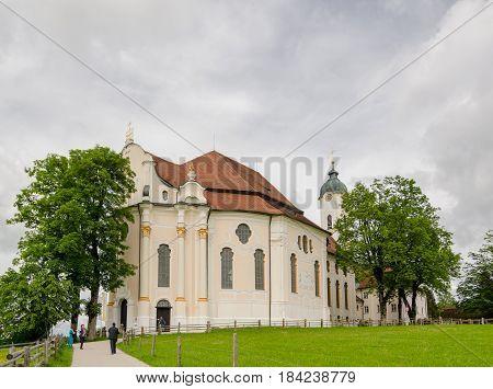 Pilgrimage Church Of Wies, Bavaria. Germany