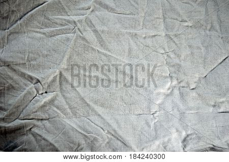 white old wrinkled cotton texture structure background