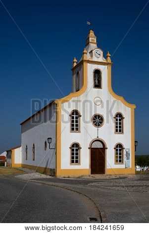 Church in Crato, a municipality in Portalegre district in Portugal