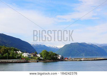 Pier In Fjord