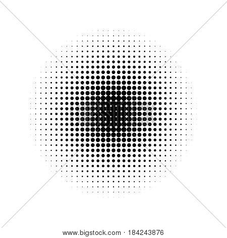 Circle half tone gradient vector halftone doted print gradient