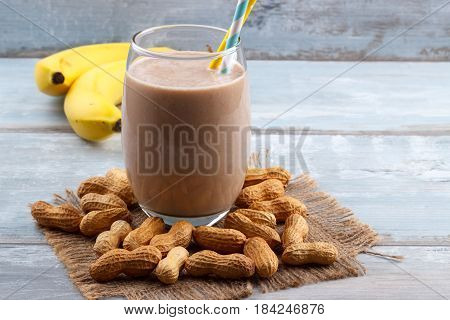 Peanut Butte Banana Oat Smoothie