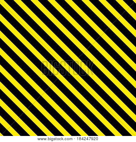 Background with a slanted diagonal stripes lines. Yellow and black color. Vector illustration. Geometric background print on paperfabric gift wrap packaging bedding lining apparel