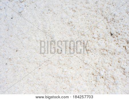 Sea salt background. The Salt Flats of Trapani Sicily Italy