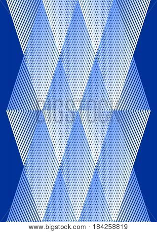Overlay background in cubist style, white and blue design with grid structure, vector EPS 10