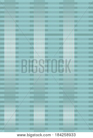 Light blue spripped overlay background with metallic effect, optical art style, vector EPS 10